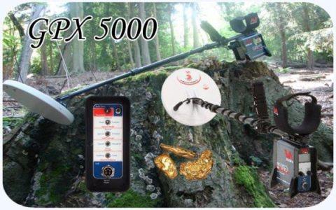 جهاز GPX5000 لكشف الذهب و المعادن 2021