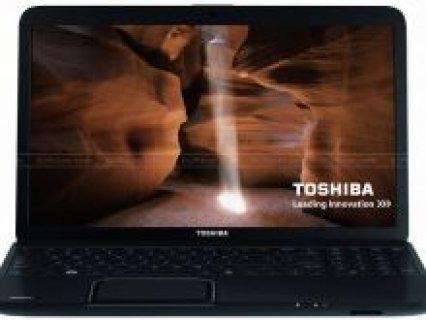 لابتوبات توشيبا وديل جديدة للبيع نظام الويندوز 7 الاخير...