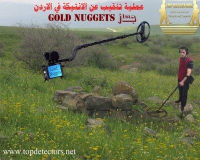 جهاز GOLD NUGGETS متخصص لكشف الذهب الخام وشذرات الذهب  والانتيكا