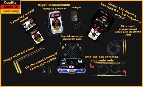 اجهزة كشف الذهب والاثار كونكورد COBRA الالماني 00201128945455