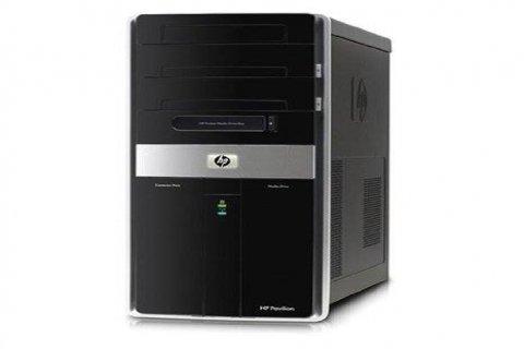 جهاز كمبيوتر مكتبي HP مع شاشة 22