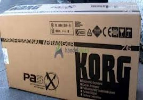 Korg Pa3x 76 Keys Pro Arranger for sale €700