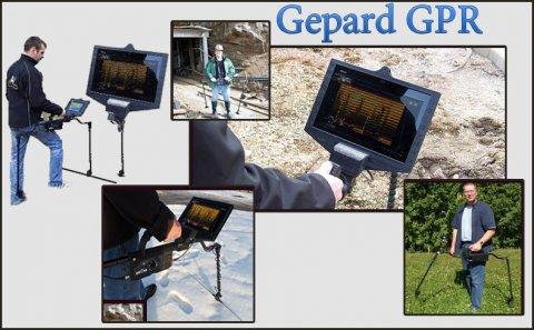 جهاز رادار اختراق الارض للكشف عن الاهداف تحت الارض Gepard GPR