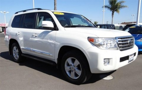 2013 V8 Toyota Land Cruiser قاعدة للبيع