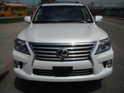My Fairly Used Lexus Lx 570 2013 For Sale