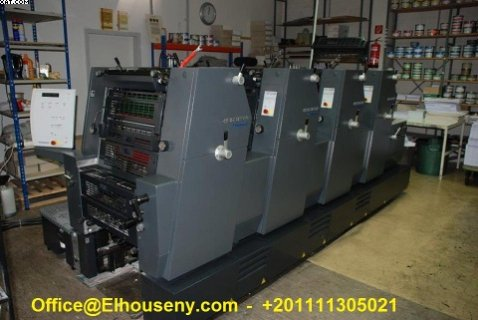 ماكينة Heidelberg PM GTO 52-4 2004