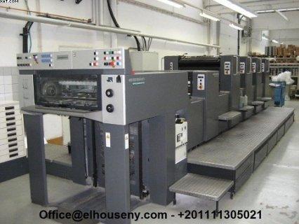 ماكينة Heidelberg SM 744 + L-H