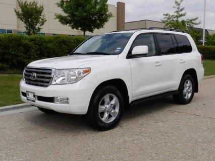 2010 Toyota Land Cruiser Full Options, Accident Free