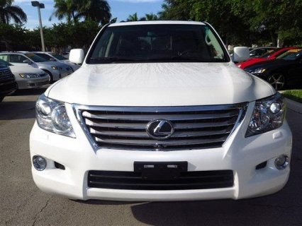 2011 LEXUS LX 570 FOR SALE