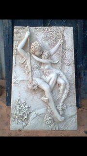 لوحه رومانيه من المرمر
