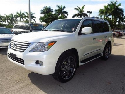 WHITE LEXUS LX 570 2011 FOR SALE