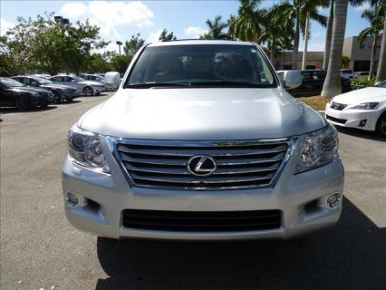 LEXUS LX 570 2011 NEALTY USED FOR SALE.