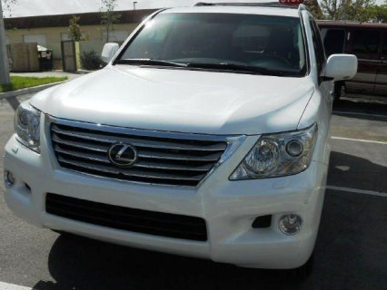 FOR SALE 2011 LEXUS LX 570 (Gulf   specs)