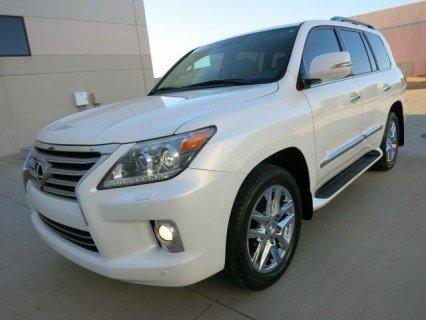 MY  2013 LEXUS LX 570 FOR SALE..