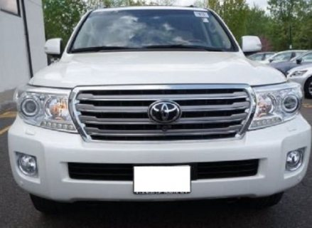 TOYOTA LAND CRUISER 2013 – NO ACCIDENT