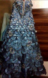 فستان مستورد من لبنان