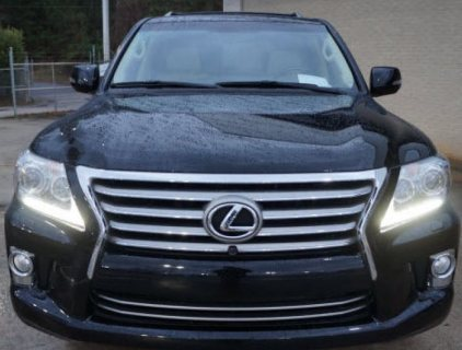 2013 LEXUS LX 570, NO ACCIDENT