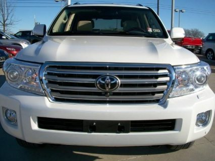 OFFER 4 SALE: 2013 TOYOTA LAND CRUISER SUV