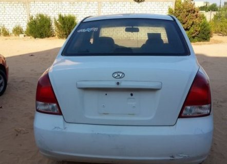 سيارة هونداي افانتي موديل 2002 للبيع