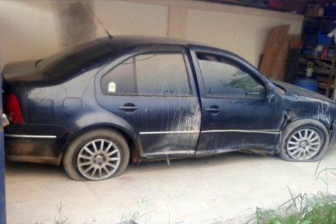 سيارة قولف بورا موديل 2005 عاملة حادثة
