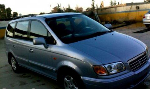 سيارة هيونداي ترجيت موديل 2001  للبيع