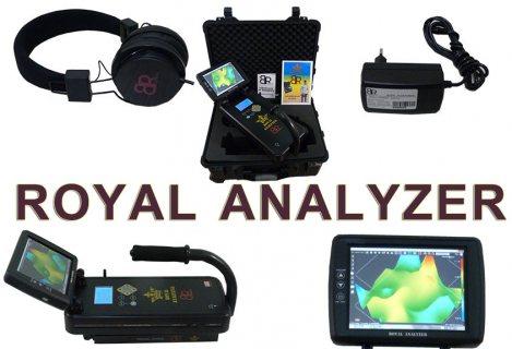 ROYAL ANALYZER احدث اجهزة الكشف عن المعادن والذهب والكهوف