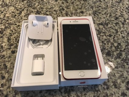 Apple iphone 7 plus product red 256gb worldwide ship