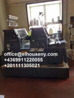 4ماكينة طباعة هايدلبرج جي تي1992