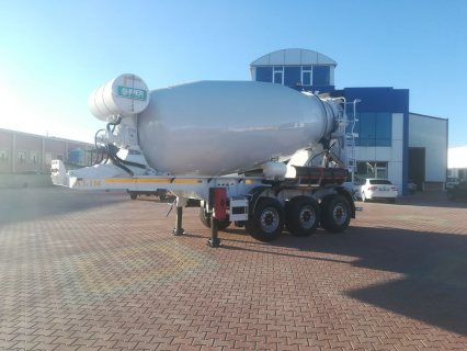 صور خلاطة الخرسانة، mixer semi trailer concrete mixer semi-trailer 3