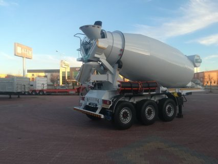 صور خلاطة الخرسانة، mixer semi trailer concrete mixer semi-trailer 4