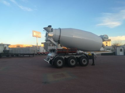 صور خلاطة الخرسانة، mixer semi trailer concrete mixer semi-trailer 5