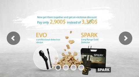 Spark for metal & gold detectors كاشف الذهب سبارك