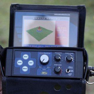 جهاز كشف الذهب بالنظام التصويري تحت الارض Dst Detectors