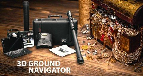 جراوند نافيجيتور 3D | جهاز كشف الذهب و الكنوز الدفينه