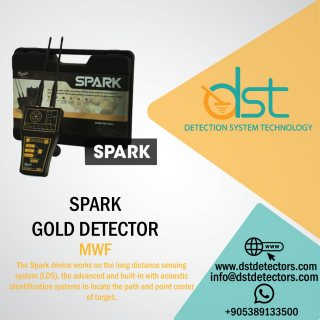 GOLD DETECTORS SPARK by DST