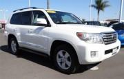 2013 Toyota Land Cruiser قاعدة